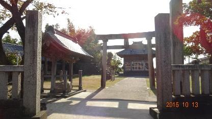 江口の八幡宮