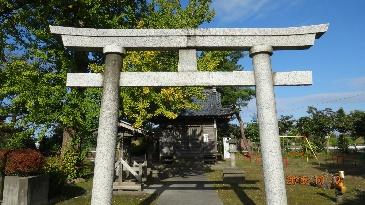 三百地の諏訪神社