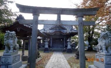 菅原社(大淵地区)