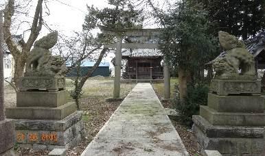 訪神神社(細山地区)