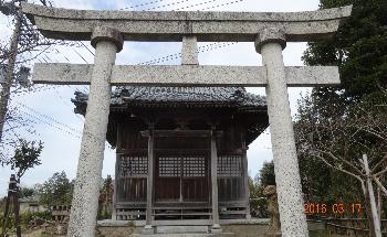 諏訪神社(蔵岡地区)