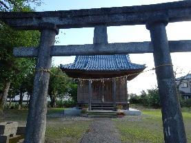 諏訪神社(直り山地区)