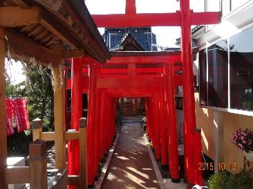 三徳稲荷神社(江口地区)