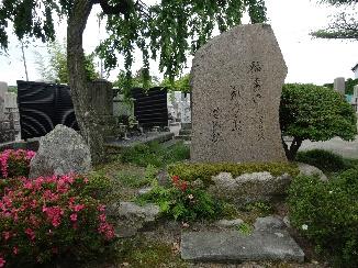 松尾芭蕉の新旧の句碑